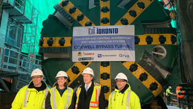 Photo of Boring begins on Coxwell Bypass Tunnel